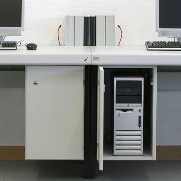 Elabo PC-Unterschränke für die gesicherte Aufbewahrung ...